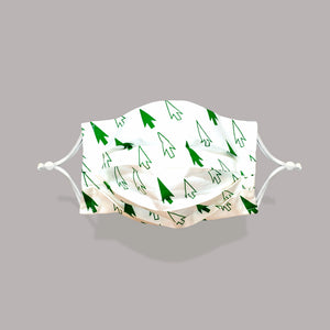 HOLIDAY Special Edition Face Mask - Flying Forest Pattern