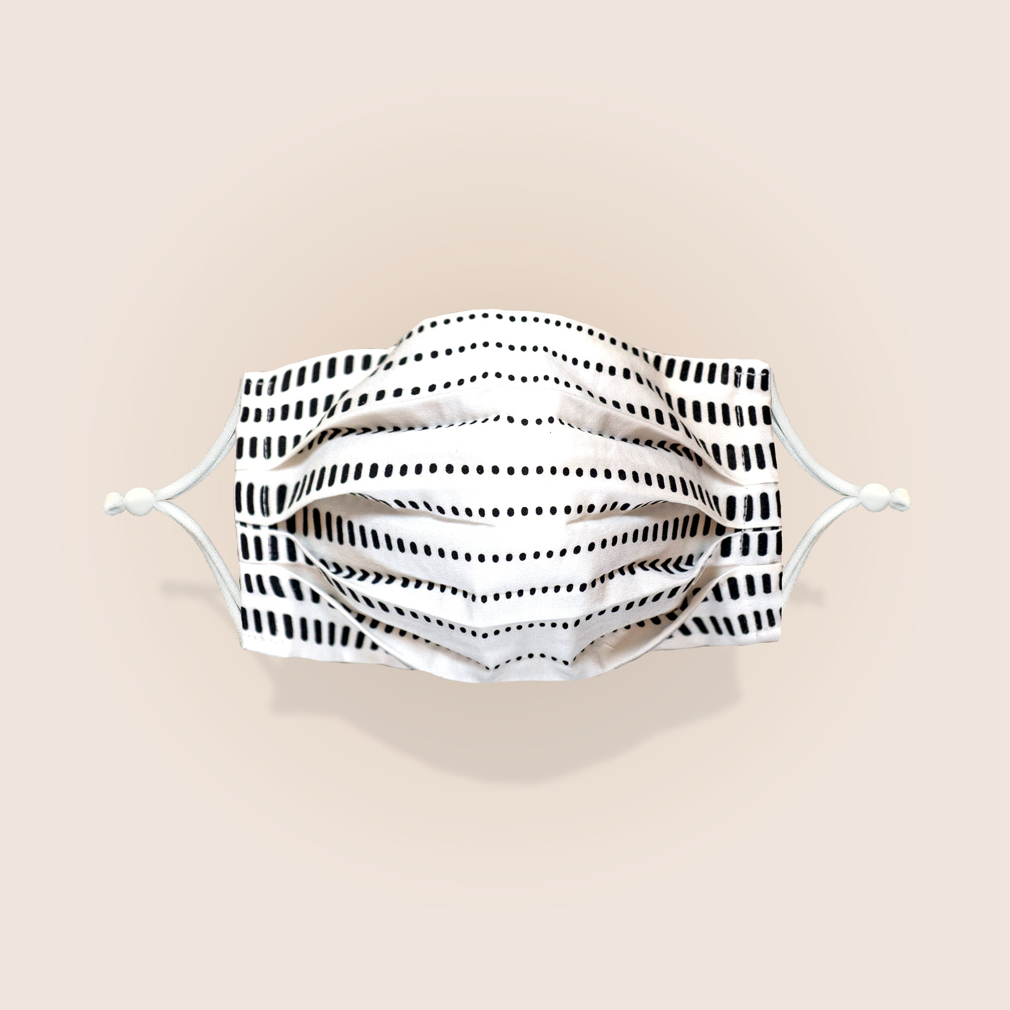 Plum Label Face Mask - Tiga Pattern