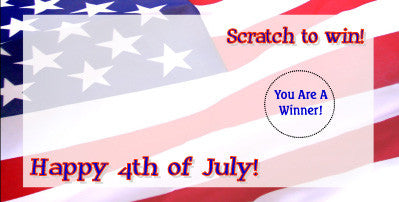Fourth of July Scratch Ticket-Design 01