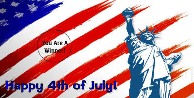 Fourth of July Scratch Ticket-Design 02