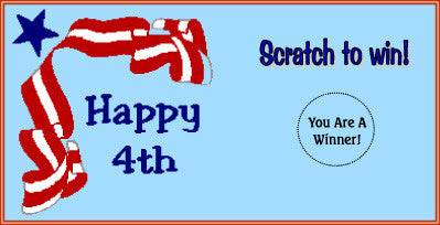Fourth of July Scratch Ticket-Design 04