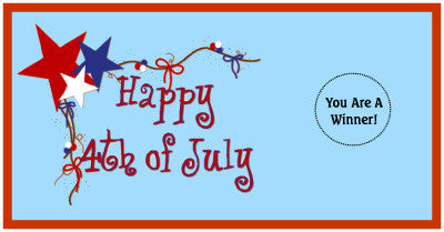 Fourth of July Scratch Ticket-Design 03
