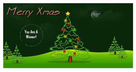 Christmas Scratch Ticket-Design 11