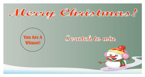 Christmas Scratch Ticket-Design 02