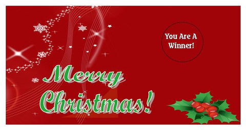 Christmas Scratch Ticket-Design 04