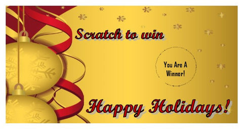 Christmas Scratch Ticket-Design 05