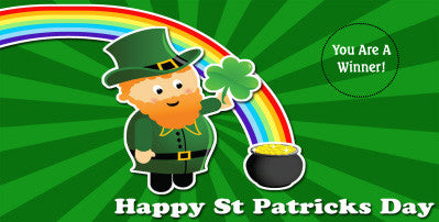 St. Patrick's Day Scratch Ticket-Design 01
