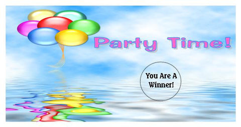 Birthday Party Scratch Ticket-Design 01
