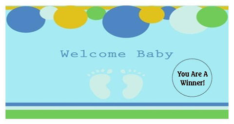 Baby Shower Scratch Ticket-Design 04
