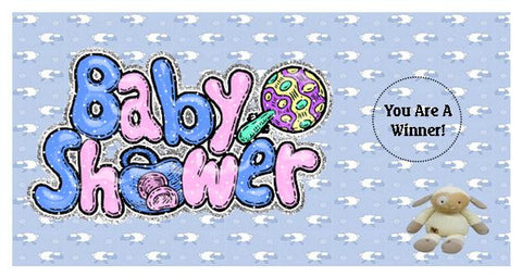 Baby Shower Scratch Ticket-Design 07