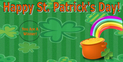 St. Patrick's Day Scratch Ticket-Design 02