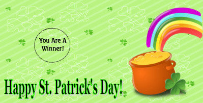 St. Patrick's Day Scratch Ticket-Design 03