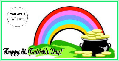 St. Patrick's Day Scratch Ticket-Design 05
