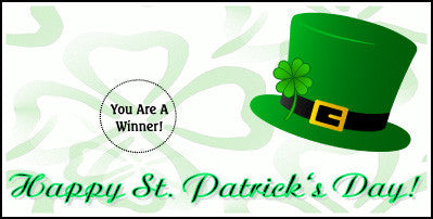 St. Patrick's Day Scratch Ticket-Design 06