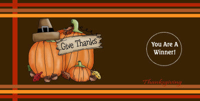 Thanksgiving Scratch Ticket-Design 04