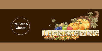 Thanksgiving Scratch Ticket-Design 05