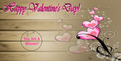 Valentine's Day Scratch Ticket-Design 01