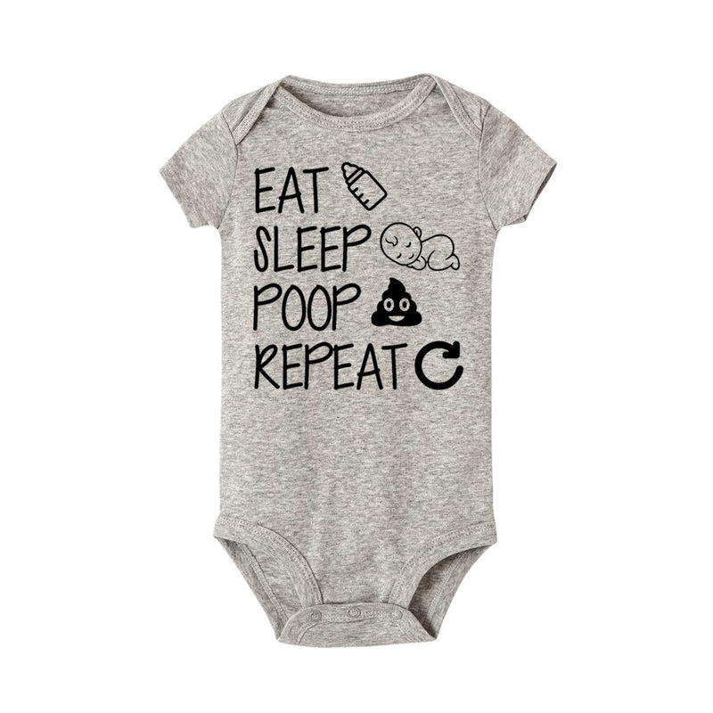 Eat Sleep Poop Repeat Bodysuit