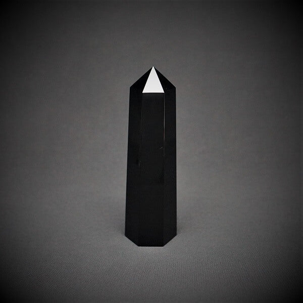 Black Obsidian Generator Point - 870 grams - Heavenly Crystals Online