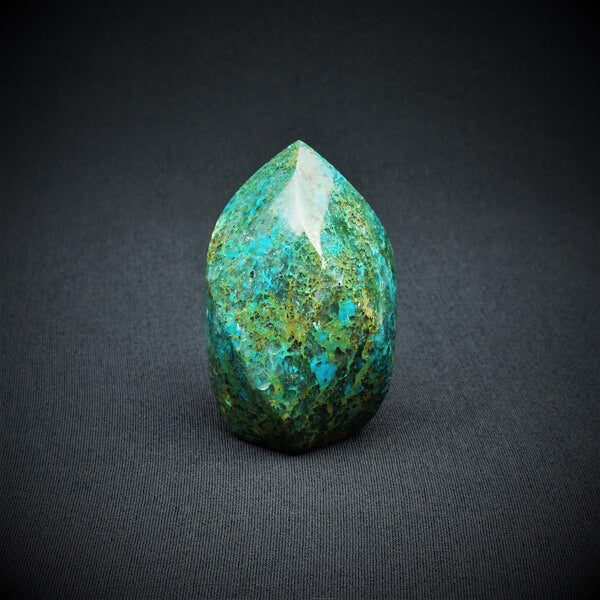 Chrysocolla Flame - 268 grams - Heavenly Crystals Online