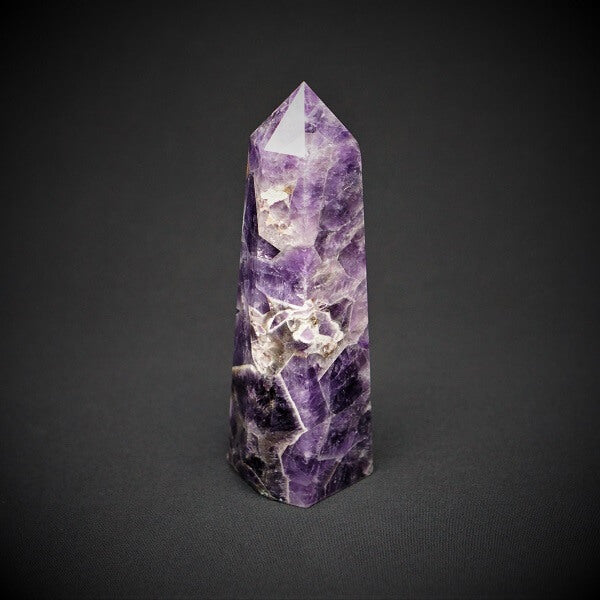 Chevron Amethyst Generator Point - 1.268 kgs - Heavenly Crystals Online