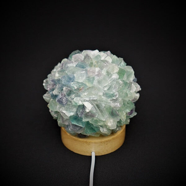 Fluorite Gemstone Lamp - 579 grams