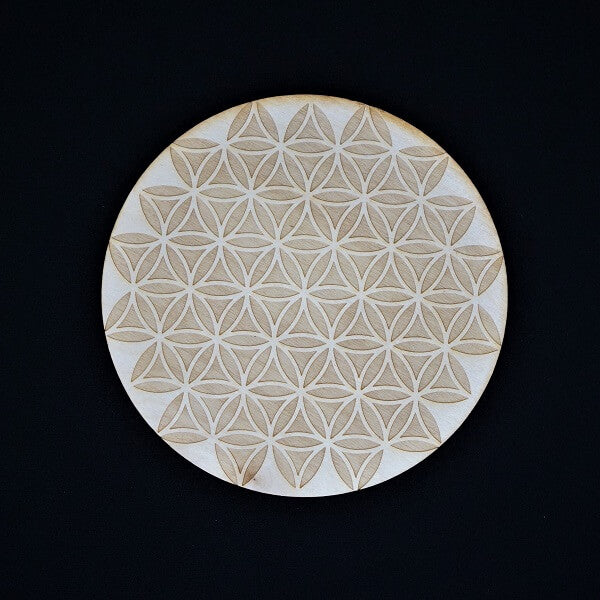 Flower of Life Crystal Grid - Inverted - Heavenly Crystals Online