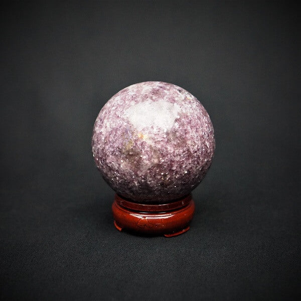 Lepidolite Sphere AAA Grade - heavenly-crystals-online