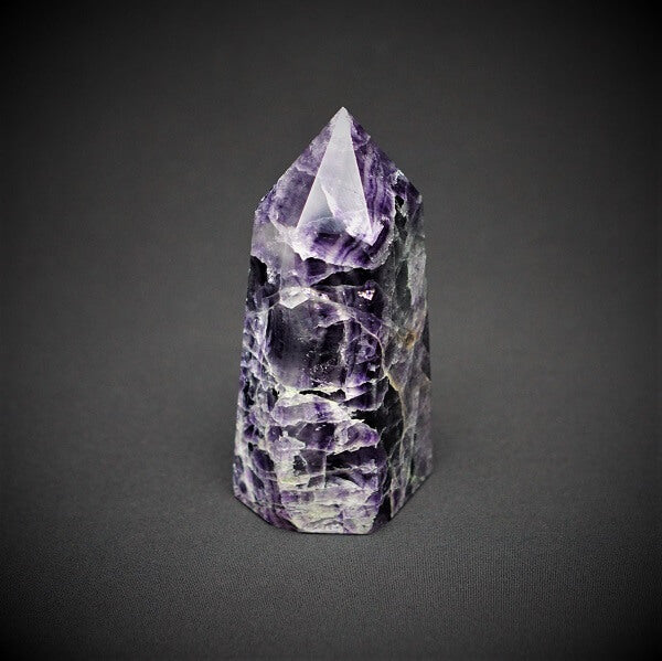 Chevron Amethyst Generator Point - 1.504 kgs - Heavenly Crystals Online