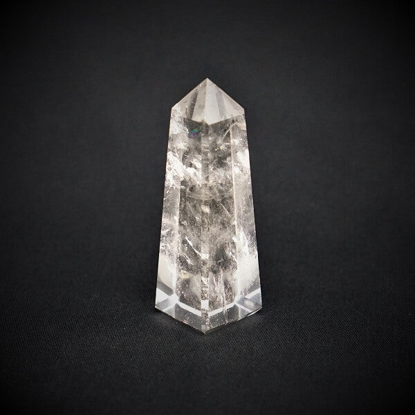 Clear Quartz Tower AAA Grade - 132 grams - Heavenly Crystals Online
