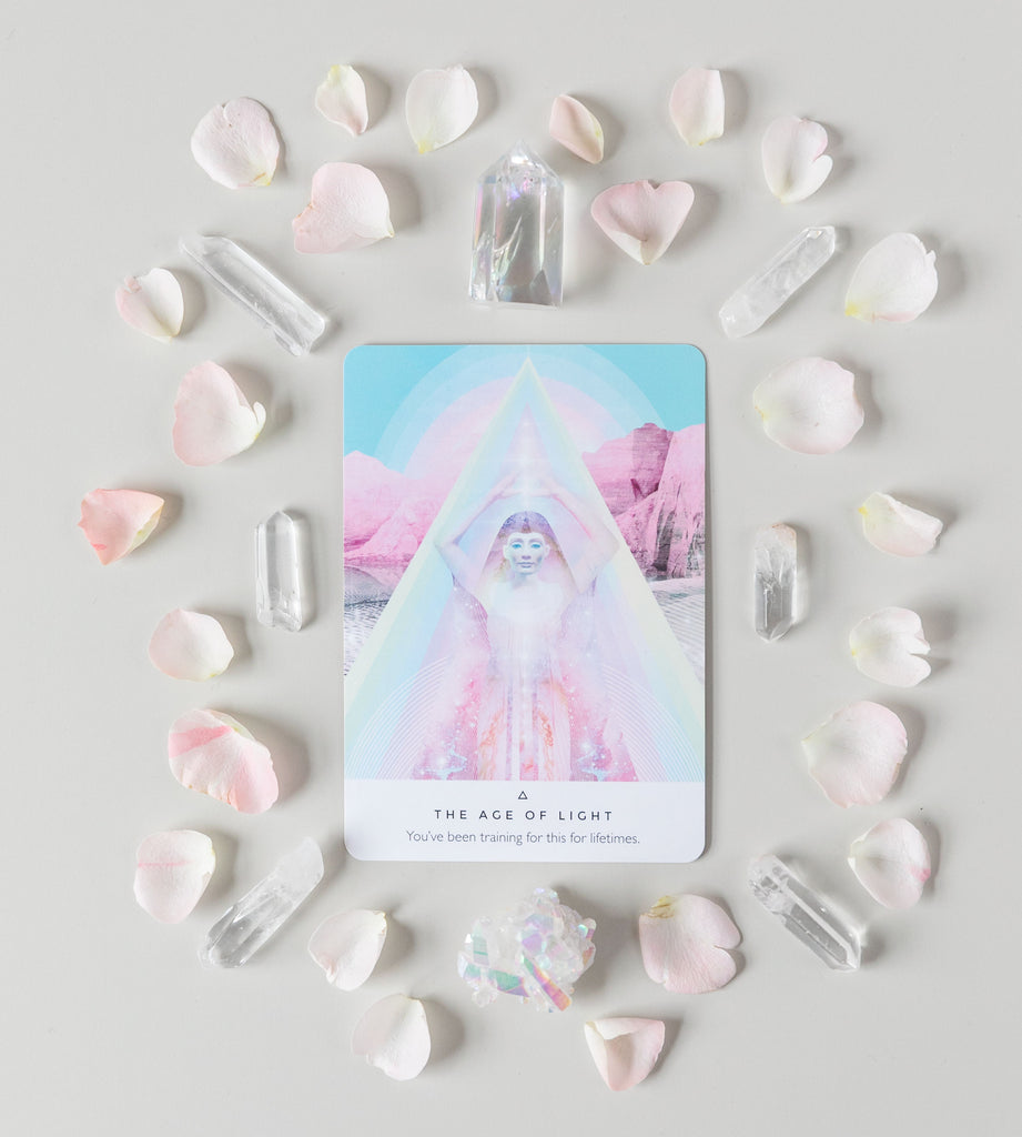 Work Your Light Oracle Cards by Rebecca Campbell - Heavenly Crystals Online
