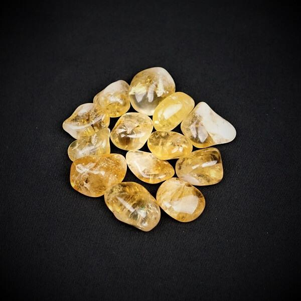 Citrine Tumbled Stone - Small - Heavenly Crystals Online