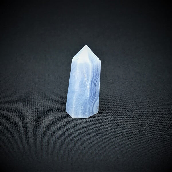 Blue Lace Agate Generator Point - 29 grams