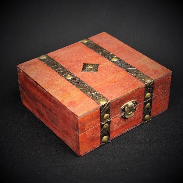 Wooden Trinket Box - Heavenly Crystals Online