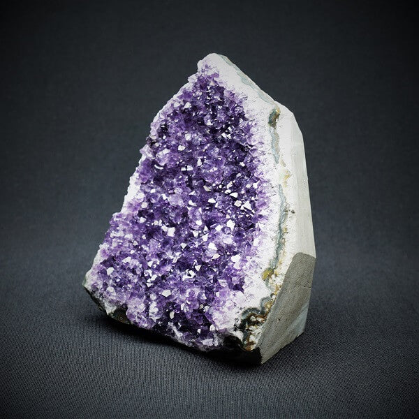Amethyst Cluster Cut Base - 1.187 kgs - Heavenly Crystals Online