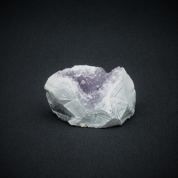 Amethyst Agate Quartz Crystal Geode - 91 grams - Heavenly Crystals Online