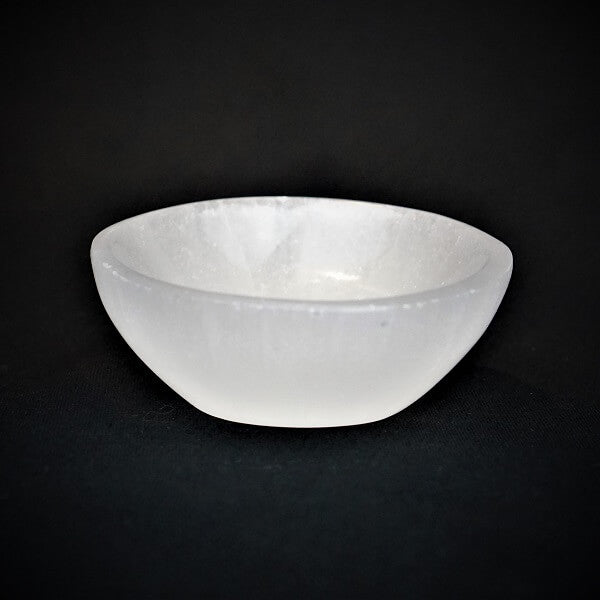 Selenite Trinket Bowl - Cleanse and Charge - Heavenly Crystals Online