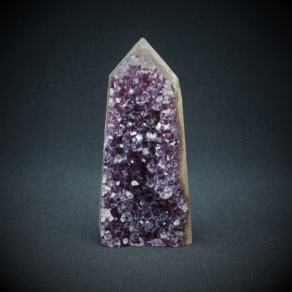 Amethyst Geode Tower - 208 grams - Heavenly Crystals Online