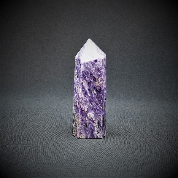 Charoite Generator Point - 261 grams - Heavenly Crystals Online