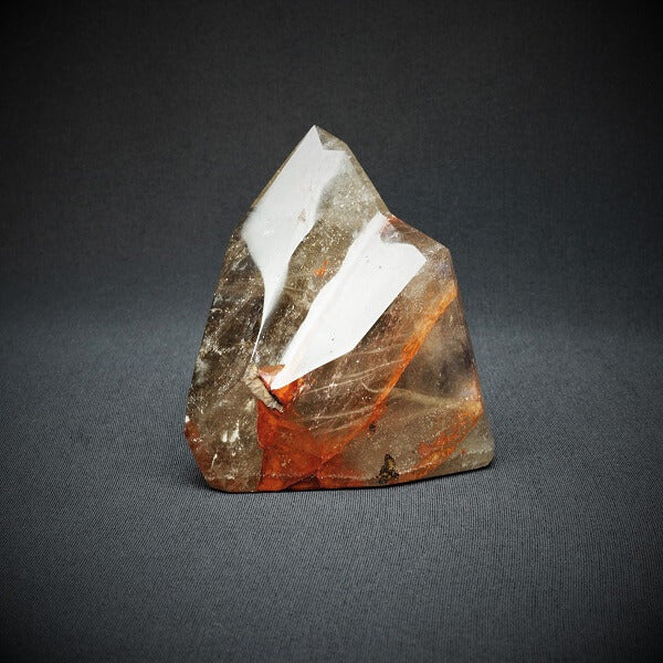 Red Hematoid Quartz Flame - 620 grams - Heavenly Crystals Online