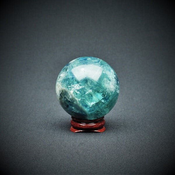 Fluorite Sphere AAA Grade - 247 grams - Heavenly Crystals Online