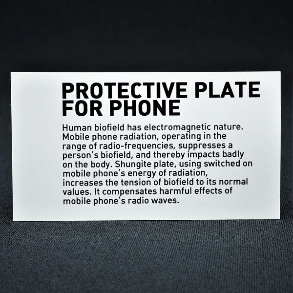Shungite Protective Plate - Heavenly Crystals Online