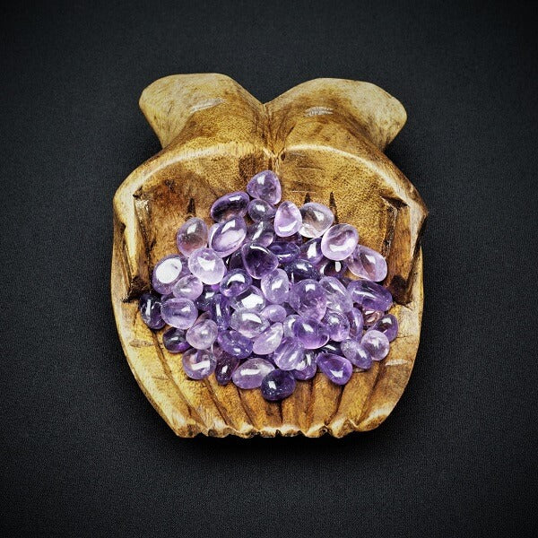 Amethyst Chips - 100 grams in pouch - Heavenly Crystals Online