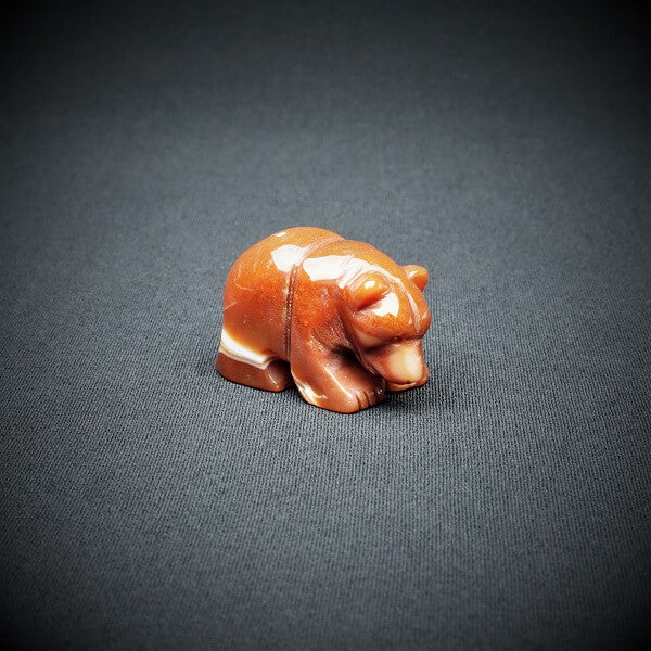 Carnelian Bear - 66 grams