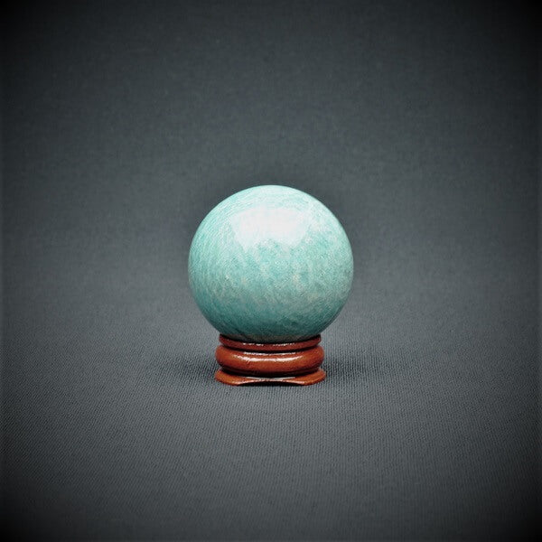 Amazonite Sphere - 119 grams - Heavenly Crystals Online
