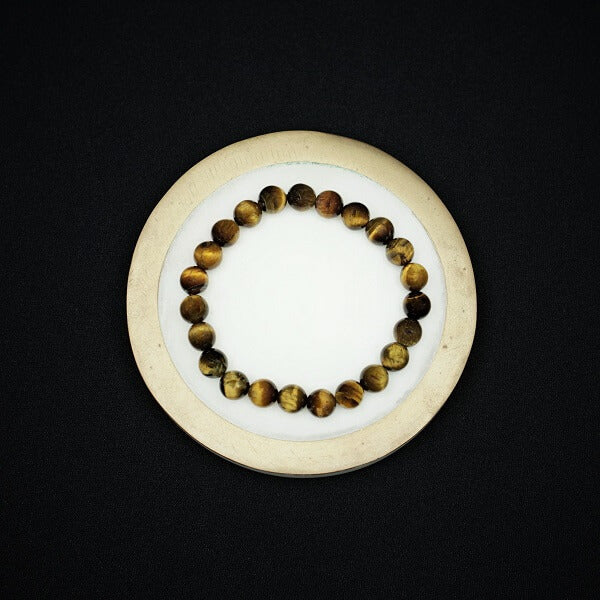 Golden Brown Tigers Eye - 8mm - Heavenly Crystals Online