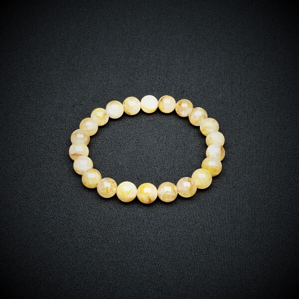 Golden Healer Bracelet - 8mm - Heavenly Crystals Online