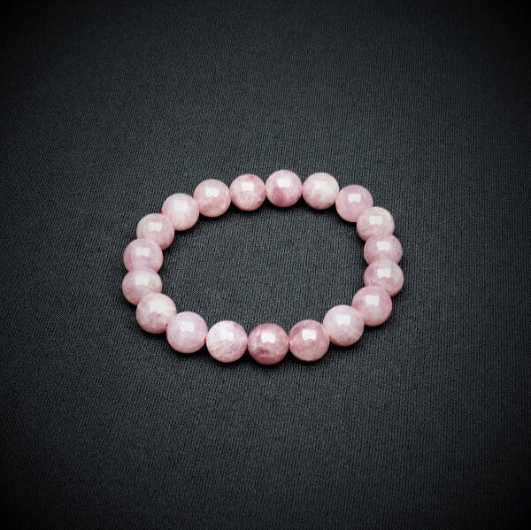 Pink Amethyst Bracelet - 10mm - Heavenly Crystals Online