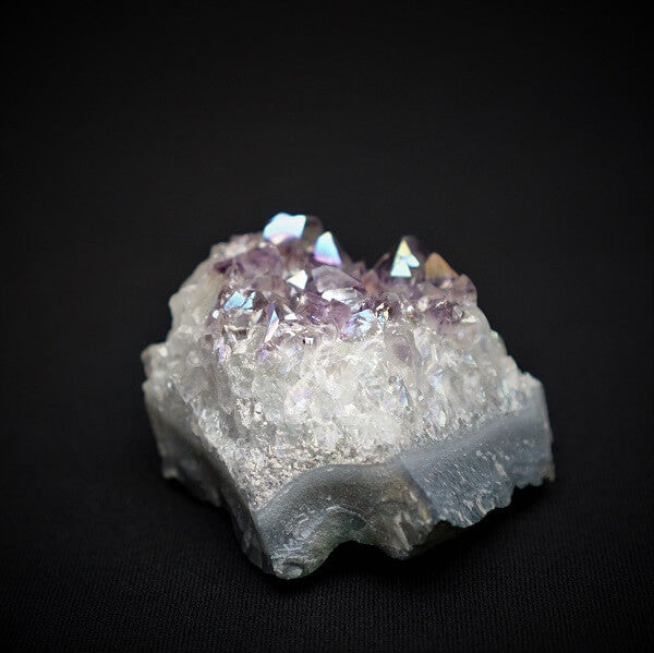 Amethyst Aura Cluster - 158 grams - Heavenly Crystals Online