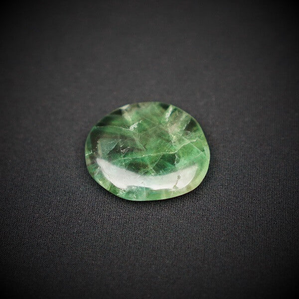 Fluorite Worry Stone AAA Grade - Heavenly Crystals Online